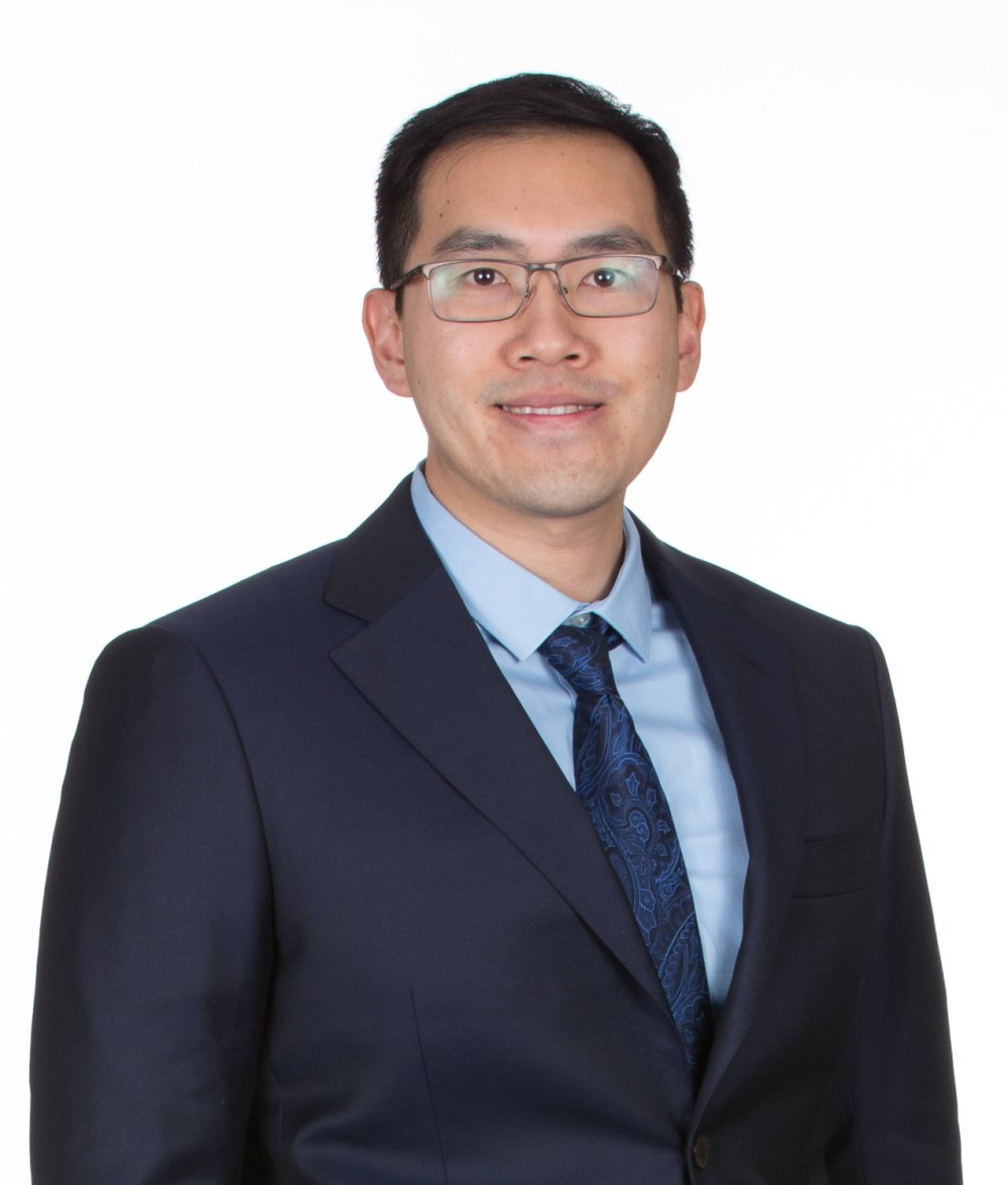 Board-certified surgeon William Ngo, DO of the surgical team at LeConte Surgical Associates